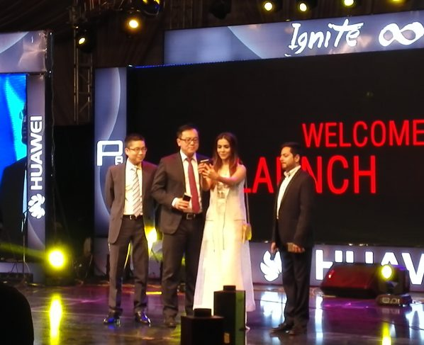 Huawei launched Huawei P8 at Royal Palm Golf & Country Club Lahore