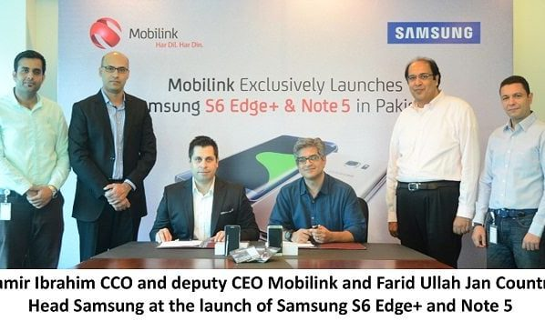Mobilink Becomes an Exclusive Operator Launch Partner for Samsung