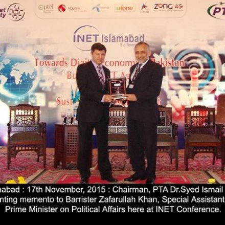 INET INAUGRATED IN ISLAMABAD