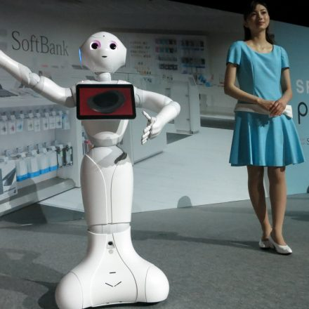 SOFTBANK'S PEPPER ROBOT LAUNCHED IN TAIWAN!