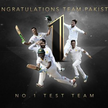 Pakistan Hits No.1 Rank in Tests By ICC