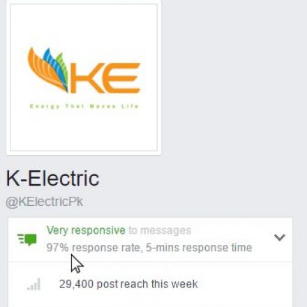 K-ELECTRIC Maintains 'Very Responsive' Status on Social Media