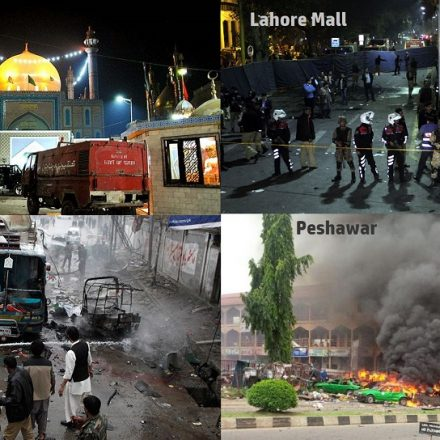 Condolence on the recent brutal incidents in Pakistan