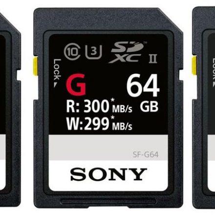 World's fastest SD cards on Ground