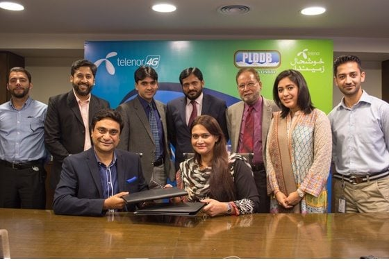 Telenor Pakistan, platforming has joined forces with Punjab Livestock & Dairy Development Board (PLDDB) to enhance women participation