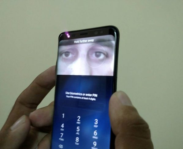 S8 has received a positive response from its users, now a German hacking group has claimed to fool its iris recognition system.