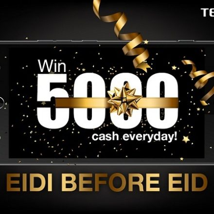 Celebrate your Eid with Tecno A Chance to win 5000 cash, Motorbike and many more gifts!