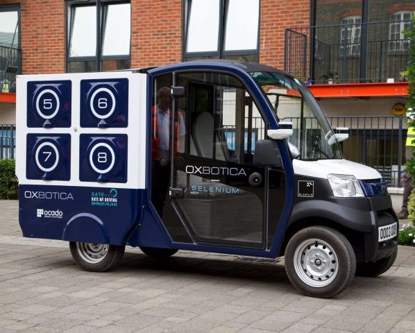 Driver less vans to be used in London to deliver groceries