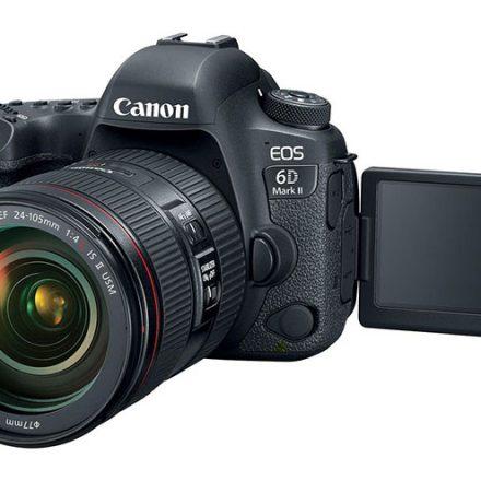Canon Refreshes Its Premium 6D Mark II DSLR
