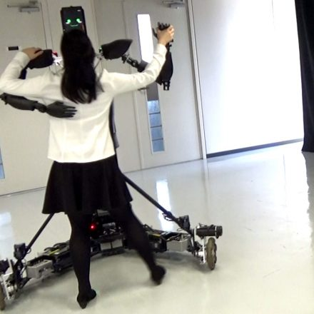 Dancing with this Robot instructor will surely be fun