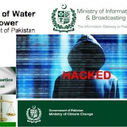Several Pakistani civil websites hacked including that of Information Technology