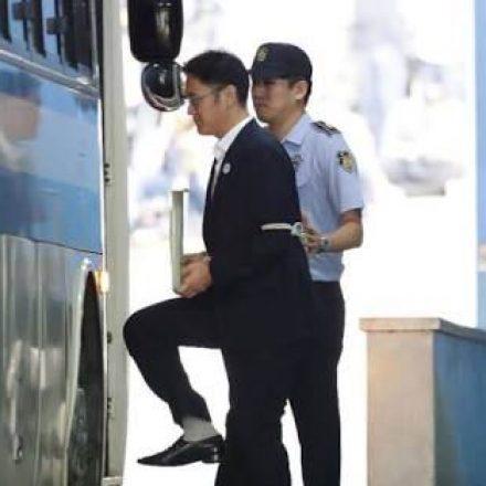 Samsung heir sentenced to five years in jail
