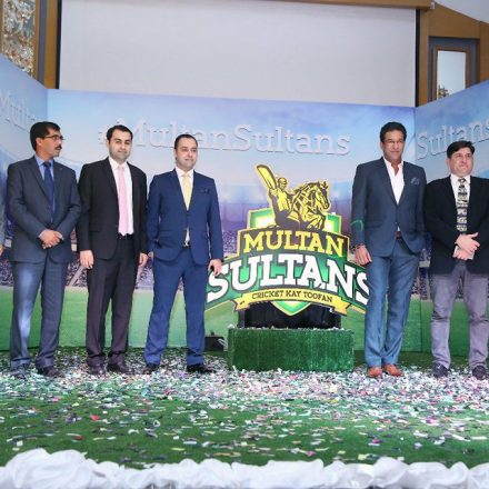Multan Sultans unviel spirited Logo along with contemporary Team Kit