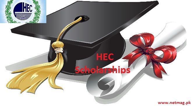 HEC scholarships for students residing within Pakistan