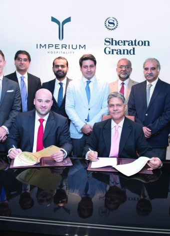 Marriott International Expands Presence In Pakistan With Signing Of Sheraton Grand Lahore