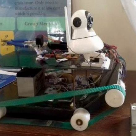 Pakistani Students design a bomb defusing robot