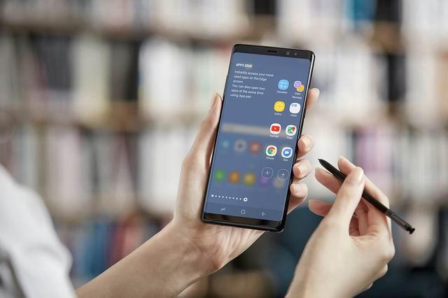 DisplayMate accredits Samsung Galaxy Note 8