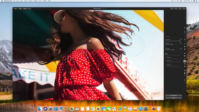Pixelmator Pro Whirlwind supports Machine learning and smart tools