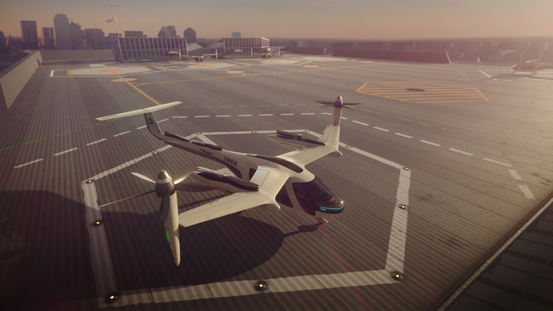 Uber to introduce flying taxis by 2020