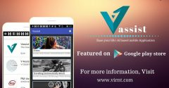 Pakistan's First Virtual Assistant Vassist for Phones Launched by Startup Creative Verge