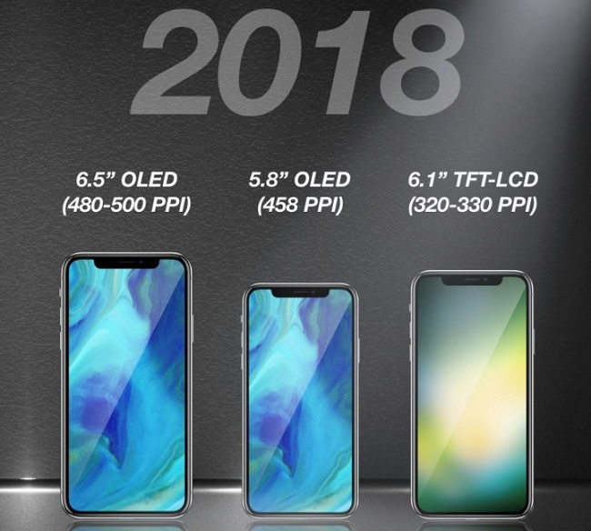 The super sized iPhone X may come in golden color in upcoming September