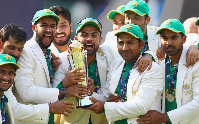 Pakistan to remain the ICC Champions Trophy title winners forever