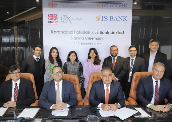 PKR 1 billion announced for SMEs by UK-funded Karandaaz and JS Bank
