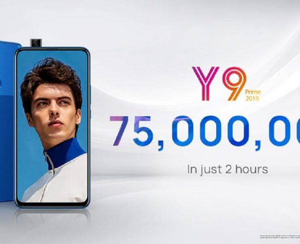 Huawei Fever Hits the Nation as HUAWEI Y9 Prime 2019 Pulls in PKR 75,000,000/- in Just Two Hours