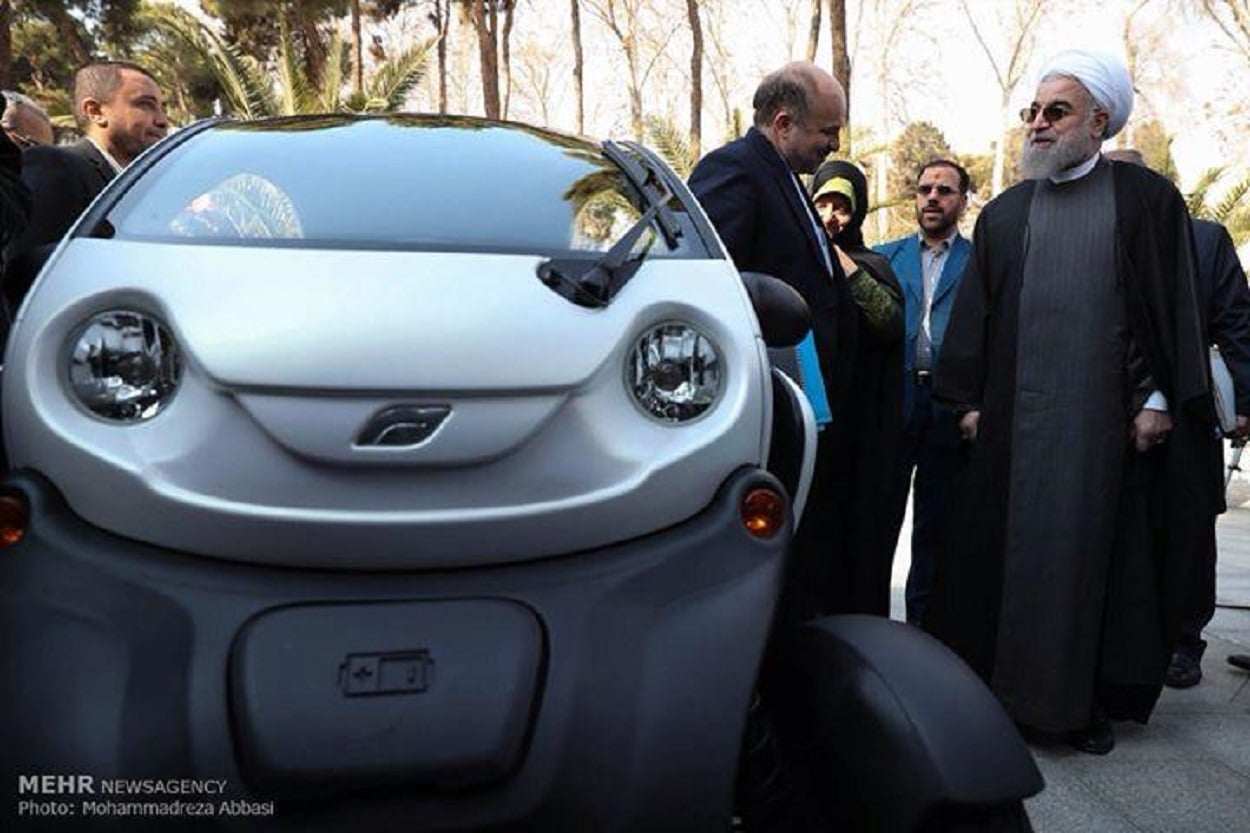 IRAN WITNESSES THE ELECTRIC CAR REVOLUTION
