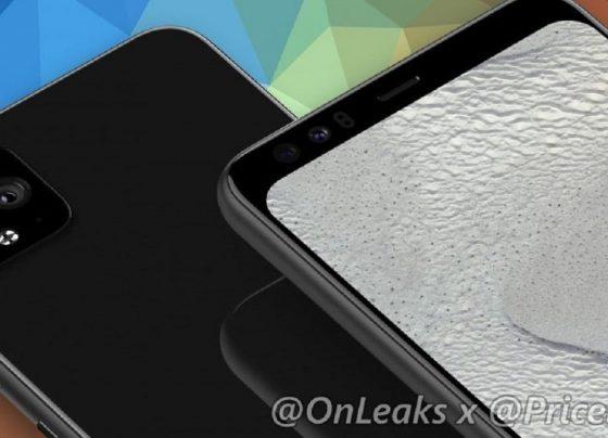 Pixel 4 XL renders surface online