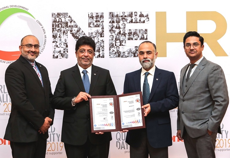 Ufone becomes the first telco to receive ISO 9001:2015 Certification for Human Resources Department